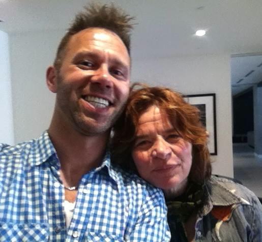 with Lorraine Segato