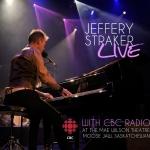 Jeffery Straker LIVE album cover