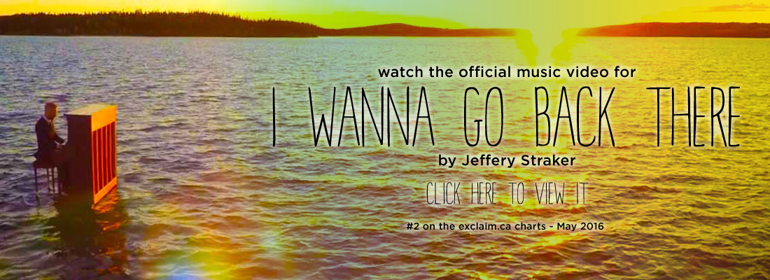 "Watch Jeff's new video for ""I Wanna Go Back There"" now on YouTube!"